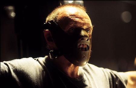Anthony Hopkins jako doktor Hannibal Lecter