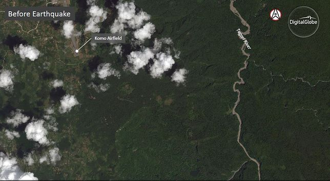 Tak wyglądały tereny przed trzęsieniem ziemi