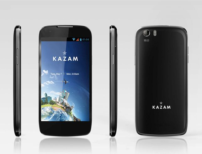 Kazam Q4.5 - smartfon kategorii mini