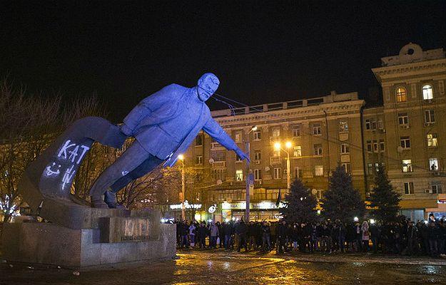 Pomnik działacza bolszewickiego Grigorija Pietrowskiego w miejscowości Dnipro