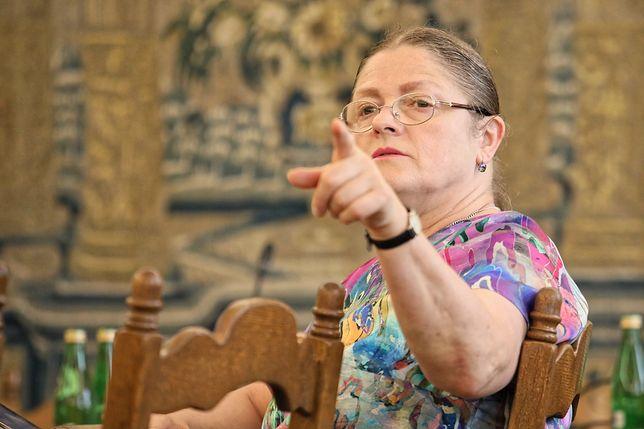 Mocne słowa Krystyny Pawłowicz