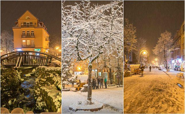 Śnieg lubi Tatry. Zakopane to potwierdza
