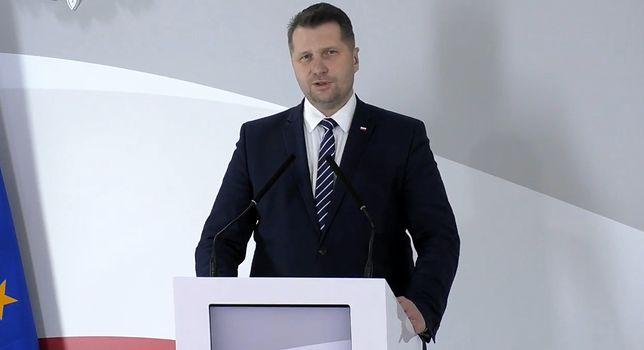 Minister edukacji narodowej Przemysław Czarnek