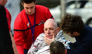 Pomoc udzielana poszkodowanemu w ataku na metro