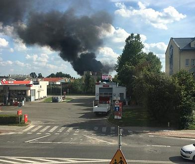 Pożar w Mińsku Mazowieckim