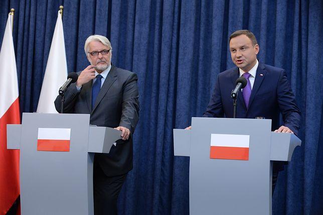 Konflikt między prezydentem a MSZ o ambasadorów?