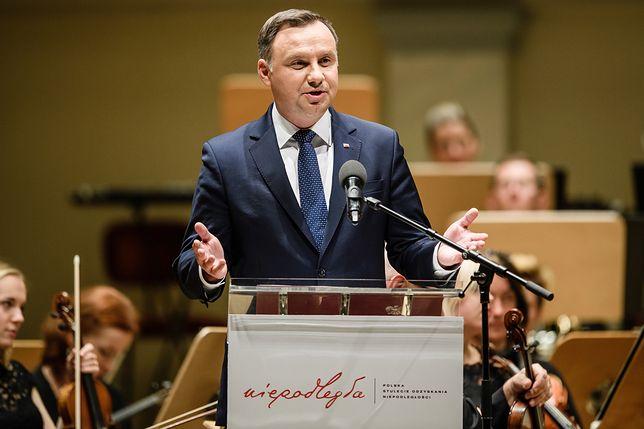 Andrzej Duda odniósł się do decyzji TSEU
