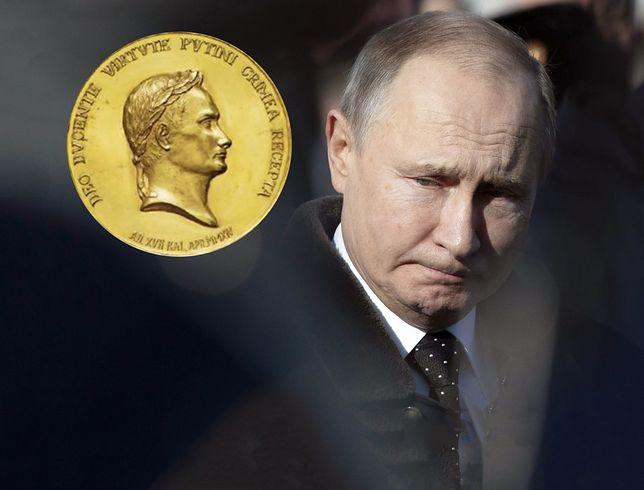 """""""Striełkow"""" sprzedaje złoty medal za zajęcie Krymu"""
