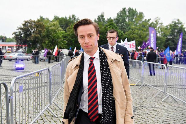 Krzysztof Bosak z największymi szansami na walkę o Pałac Prezydencki.