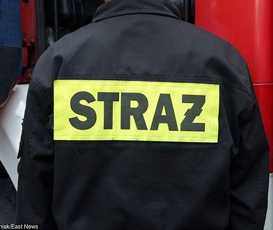 Kraków. Pożar w hucie Arcelor Mittal