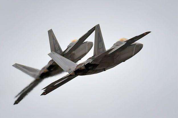 Myśliwce F-22 Raptor