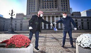 Warszawa pomaga przedsiębiorcom. PKiN i miasto mają pomysł na wykorzystanie chryzantem