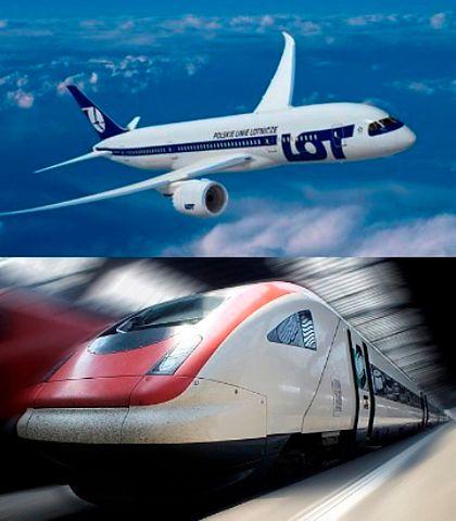 Samolotem, pociągiem, czy samochodem - gdzie najtańsza jest szybkość?