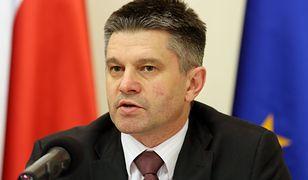 Jacek Kapica, były wiceminister finansów.