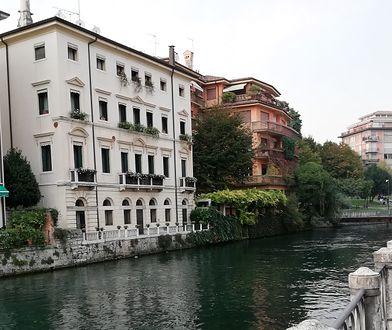 Jeden z głównych kanałów w Treviso