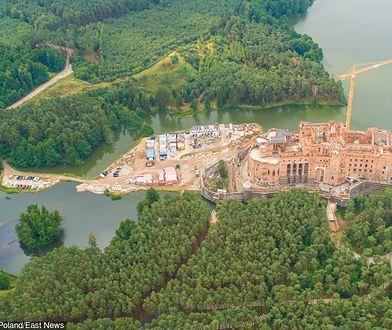 Zamek w Stobnicy większy jak być powinien