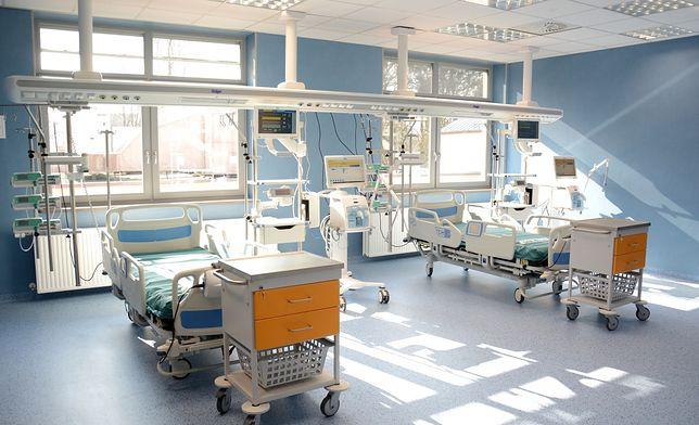Koronawirus. Szpital przy Koszarowej ma nowy OIOM. Wkrótce trafią tam pierwsi pacjenci