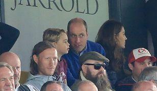 Para książęca na meczu Aston Villa