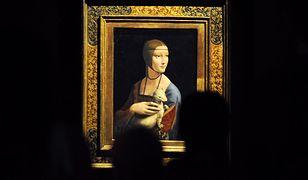 Dama z gronostajem to obraz namalowany około 1489 r.