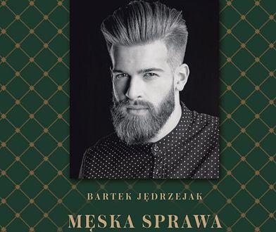 """Dzięki książce """"Męska sprawa"""" można poznać pracę barbera i dowiedzieć się, w czym może pomóc, co doradzić."""