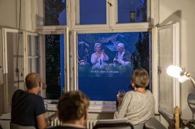 Projekt Windowflicks w Berlinie