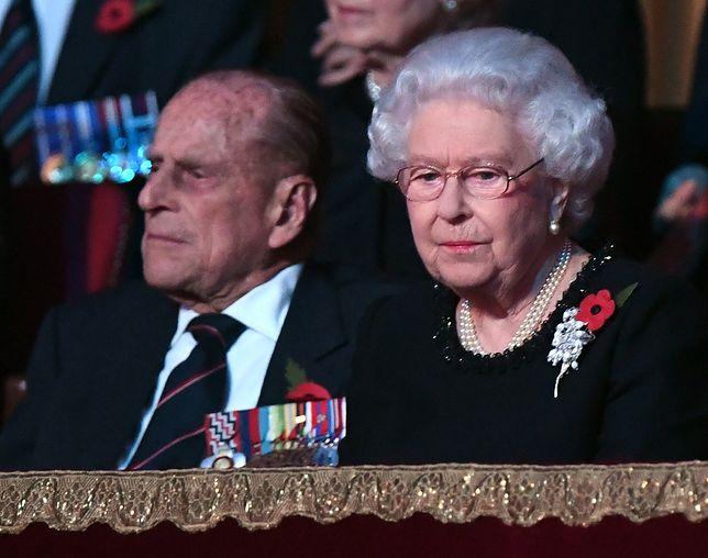 Niepokojące wieści o stanie zdrowia królowej Elżbiety i jej męża