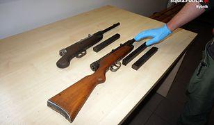 Śląskie. Mieli nielegalną broń. Policja przejęła pistolety maszynowe
