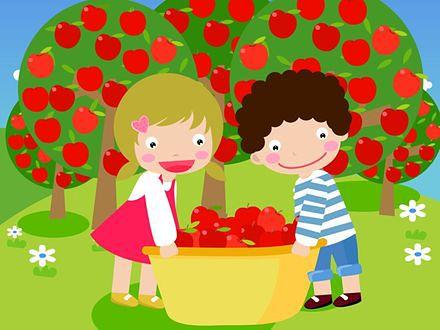Bohaterowie telewizyjni zachęcaj dzieci do warzyw i owoców