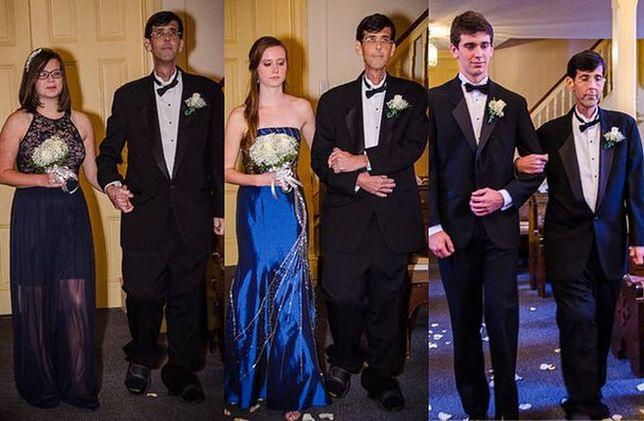Dla umierającego ojca zorganizowali przyjęcie weselne. Mógł spełnić swoje największe marzenie