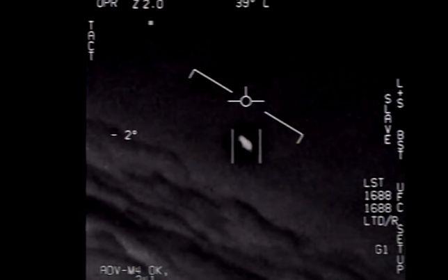 Nagranie wykonane przez amerykańskich pilotów