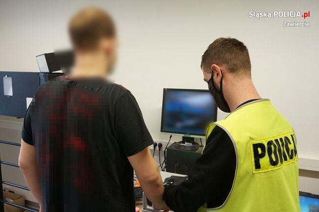 Śląskie. Policjanci z Dąbrowy Górniczej i Zawiercia zatrzymali dilerów narkotykowych.