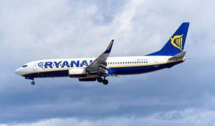 Strajk Ryanaira. Przewoźnik odwołuje loty