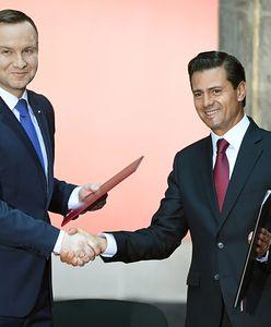 Prezydent Duda odebrał klucz do Miasta Meksyk
