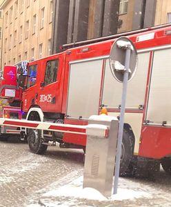 Straż pożarna przed Kancelarią Prezydenta. Znamy przyczynę interwencji