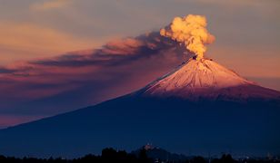 Nadmierną aktywność wulkanu zarejestrowano w ciągu ostatnich dni