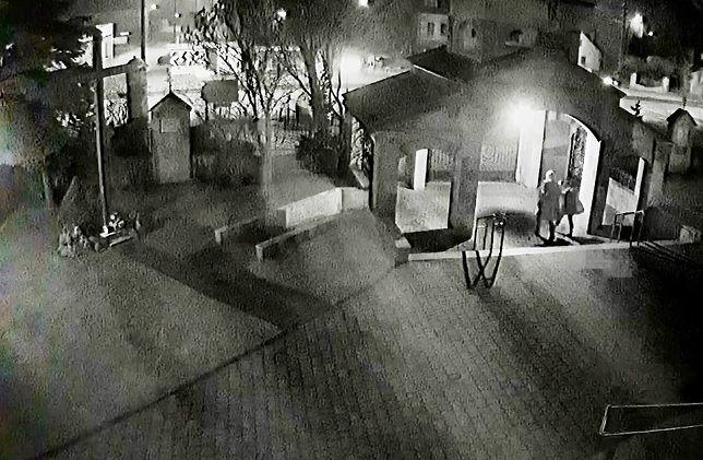 Brzeszcze: atak wandali na kościół i plebanię. Opublikowano film