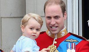 Co za niespodzianka! Książę William na zawody przyprowadził najstarsze dzieci
