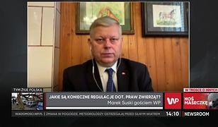 Skandal na fermie norek w reportażu WP. Marek Suski: płakać się chce