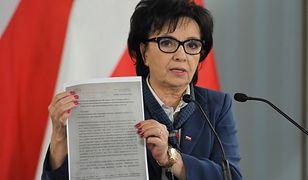 Wybory 2020. Krytyczna opinia Biura Analiz Sejmowych? Elżbieta Witek dementuje i zawiadamia prokuraturę