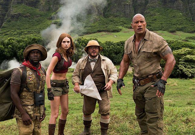 """""""Jumanji: Przygoda w dżungli"""" radzi sobie w kinach lepiej niż zakładano"""
