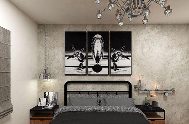 Styl industrialny w sypialni to zgrabne połączenie historii z nowoczesnością