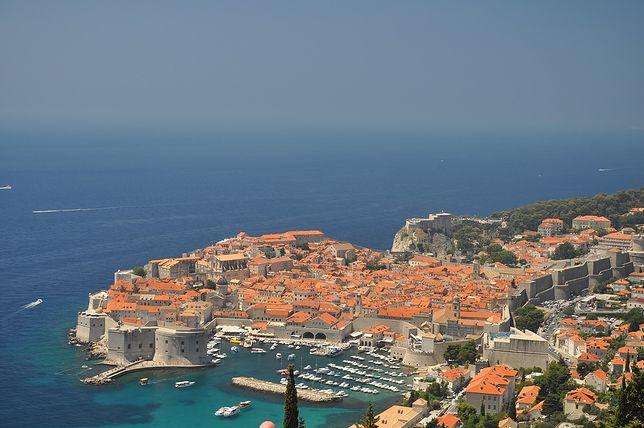 Widok na Dubrovnik