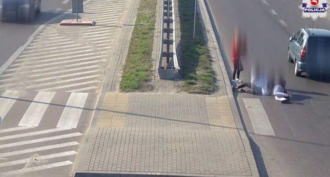 Łuków: kierowca potrącił cztery nastolatki na przejściu dla pieszych
