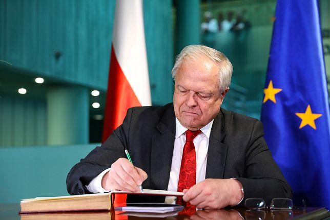 Sędzia Stanisław Zabłocki nie chce być dłużej prezesem Izby Karnej SN