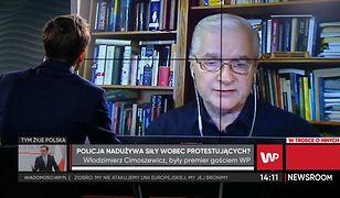 """Włodzimierz Cimoszewicz: """"Polska od duższego czasu nie jest krajem praworządnym"""""""