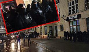 Policja zablokowała wejście do klubów. Gorąco we Wrocławiu