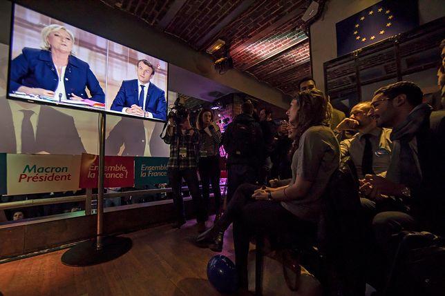 Debata kandydatów na prezydenta Francji zmieniła się w pyskówkę
