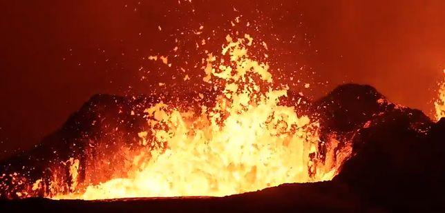 Jednocześnie katastrofa i niesamowity widok