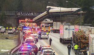 W katastrofie pociągu w hrabstwie Pierce zginęły 3 osoby, ponad 100 jest rannych