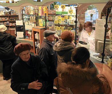By w aptece kupić leki na przeziębienie, trzeba kilka razy stanąć w kolejce
